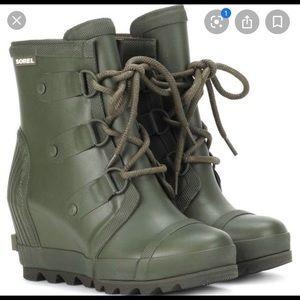 Sorel Wedge Rain Boots